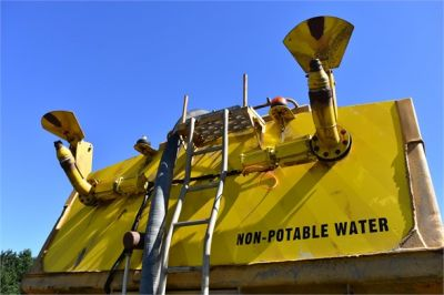 USED 1993 VOLVO A35C WATER TRUCK #2212-14