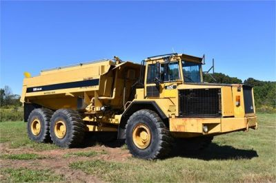 USED 1993 VOLVO A35C WATER TRUCK #2212-7