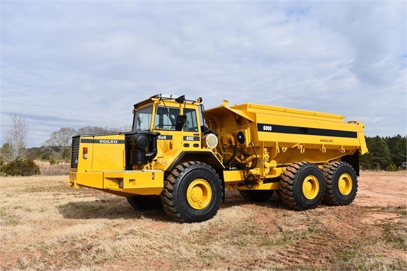 USED 1994 VOLVO A35C ON HIGHWAY TRUCK #2214