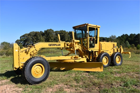 USED 1992 CATERPILLAR 14G MOTOR GRADER EQUIPMENT #2217