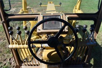 USED 1992 CATERPILLAR 14G MOTOR GRADER EQUIPMENT #2217-30