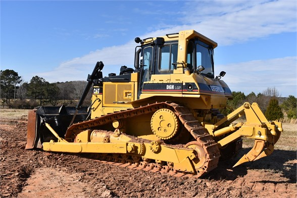 USED 1989 CATERPILLAR D6H LGP DOZER EQUIPMENT #2218