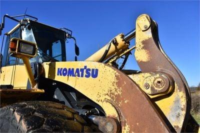 USED 2011 KOMATSU WA500-6 WHEEL LOADER EQUIPMENT #2248-25