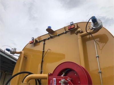 USED 2008 CATERPILLAR 740 WATER TRUCK #2258-14