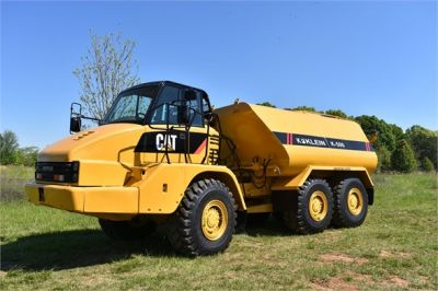 USED 2009 CATERPILLAR 725 WATER TRUCK #2260-10