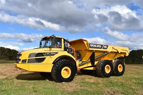 USED 2016 VOLVO A40G OFF HIGHWAY TRUCK EQUIPMENT #2266