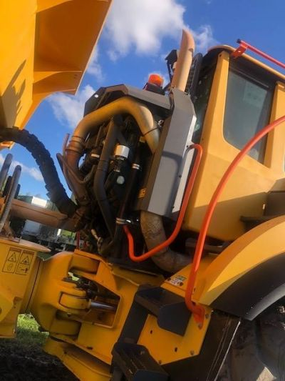 USED 2016 VOLVO A40G OFF HIGHWAY TRUCK EQUIPMENT #2267-16