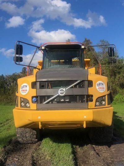 USED 2016 VOLVO A40G OFF HIGHWAY TRUCK EQUIPMENT #2267-8