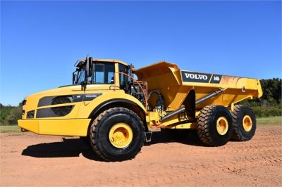 USED 2016 VOLVO A40G OFF HIGHWAY TRUCK EQUIPMENT #2268-4