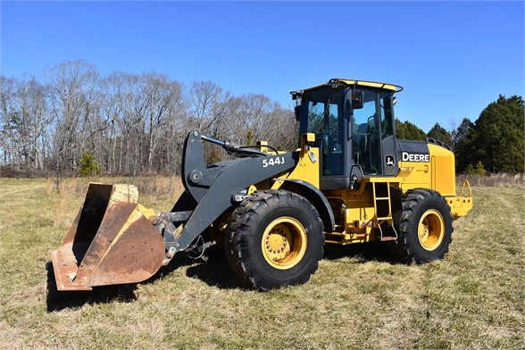 USED 2006 DEERE 544J WHEEL LOADER EQUIPMENT #2285