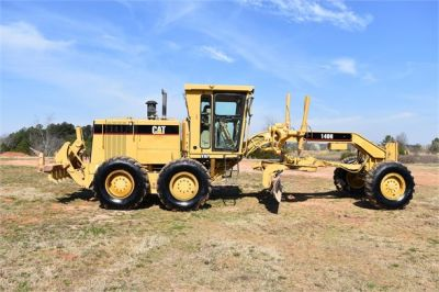 USED 1999 CATERPILLAR 140H MOTOR GRADER EQUIPMENT #2324-10