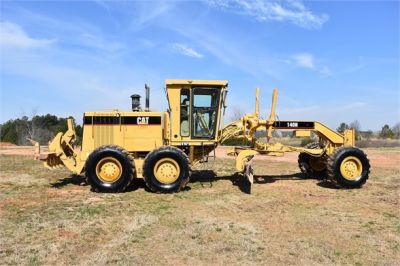 USED 1999 CATERPILLAR 140H MOTOR GRADER EQUIPMENT #2324-11