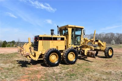 USED 1999 CATERPILLAR 140H MOTOR GRADER EQUIPMENT #2324-13