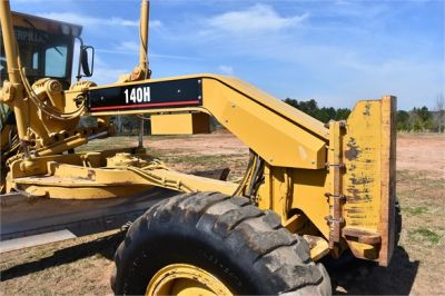 USED 1999 CATERPILLAR 140H MOTOR GRADER EQUIPMENT #2324-19