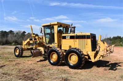 USED 1999 CATERPILLAR 140H MOTOR GRADER EQUIPMENT #2324-2