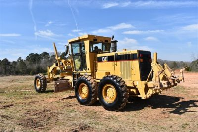 USED 1999 CATERPILLAR 140H MOTOR GRADER EQUIPMENT #2324-3