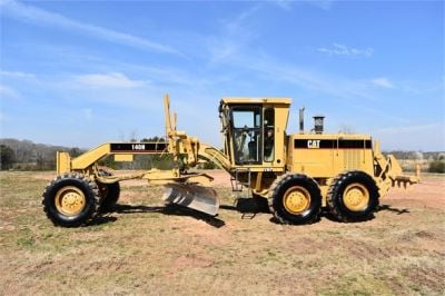 USED 1999 CATERPILLAR 140H MOTOR GRADER EQUIPMENT #2324-6