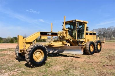 USED 1999 CATERPILLAR 140H MOTOR GRADER EQUIPMENT #2324-7