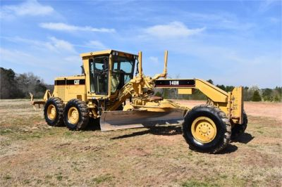 USED 1999 CATERPILLAR 140H MOTOR GRADER EQUIPMENT #2324-8