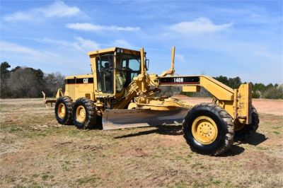 USED 1999 CATERPILLAR 140H MOTOR GRADER EQUIPMENT #2324-9