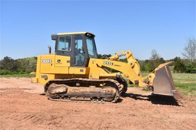 USED 2005 DEERE 755C CRAWLER LOADER EQUIPMENT #2344-10