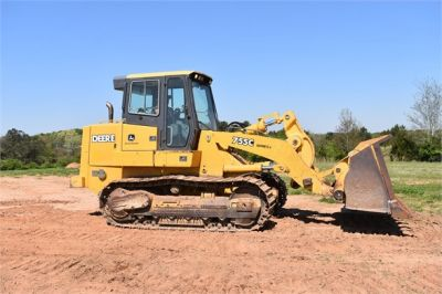 USED 2005 DEERE 755C CRAWLER LOADER EQUIPMENT #2344-11