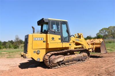 USED 2005 DEERE 755C CRAWLER LOADER EQUIPMENT #2344-14