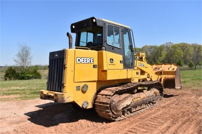 USED 2005 DEERE 755C CRAWLER LOADER EQUIPMENT #2344-15