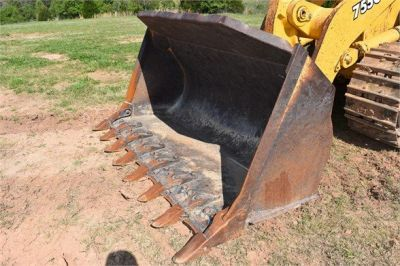 USED 2005 DEERE 755C CRAWLER LOADER EQUIPMENT #2344-16