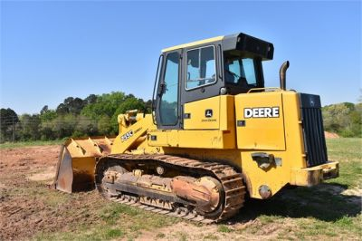USED 2005 DEERE 755C CRAWLER LOADER EQUIPMENT #2344-2