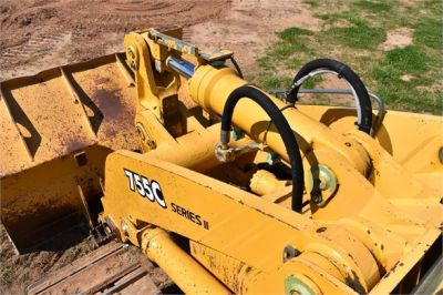 USED 2005 DEERE 755C CRAWLER LOADER EQUIPMENT #2344-22