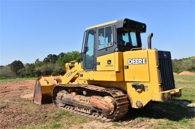 USED 2005 DEERE 755C CRAWLER LOADER EQUIPMENT #2344-3