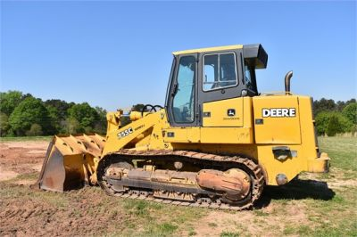 USED 2005 DEERE 755C CRAWLER LOADER EQUIPMENT #2344-4