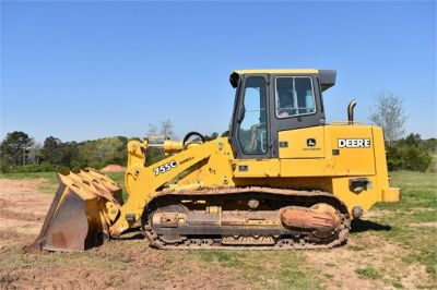 USED 2005 DEERE 755C CRAWLER LOADER EQUIPMENT #2344-5