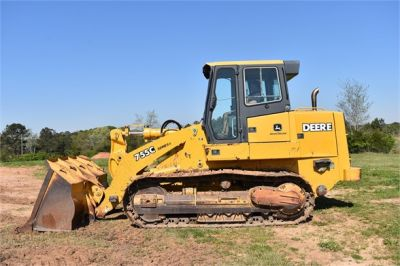 USED 2005 DEERE 755C CRAWLER LOADER EQUIPMENT #2344-6