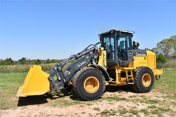 USED 2012 DEERE 624K WHEEL LOADER EQUIPMENT #2348
