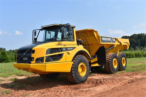 USED 2015 VOLVO A25G OFF HIGHWAY TRUCK EQUIPMENT #2356