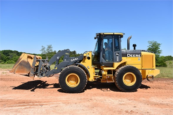 USED 2014 DEERE 544K WHEEL LOADER EQUIPMENT #2358