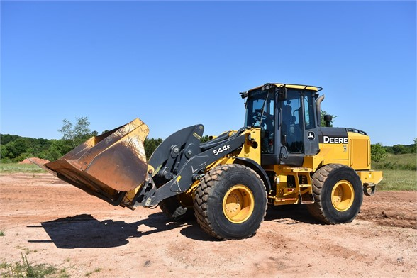 USED 2014 DEERE 544K WHEEL LOADER EQUIPMENT #2359