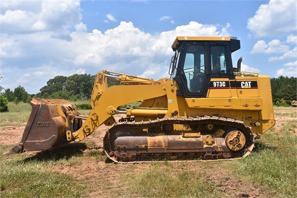 USED 2007 CATERPILLAR 973C CRAWLER LOADER EQUIPMENT #2372