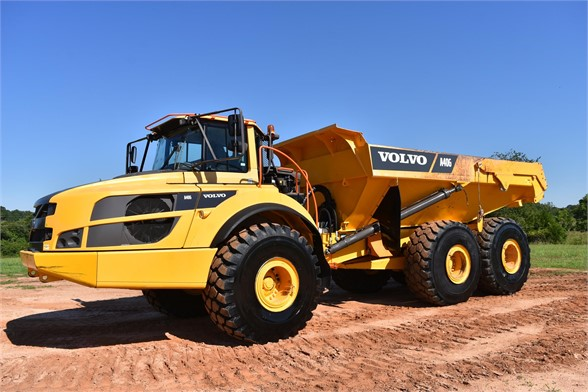 USED 2015 VOLVO A40G OFF HIGHWAY TRUCK EQUIPMENT #2386