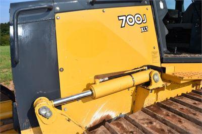 USED 2013 DEERE 700J XLT DOZER EQUIPMENT #2434-25