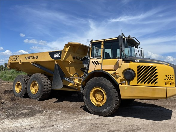 USED 2011 VOLVO A30E OFF HIGHWAY TRUCK EQUIPMENT #2438