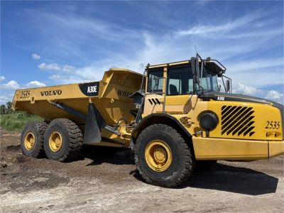 USED 2011 VOLVO A30E OFF HIGHWAY TRUCK EQUIPMENT #2438-1