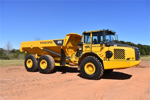 USED 2009 VOLVO A25E OFF HIGHWAY TRUCK EQUIPMENT #2465