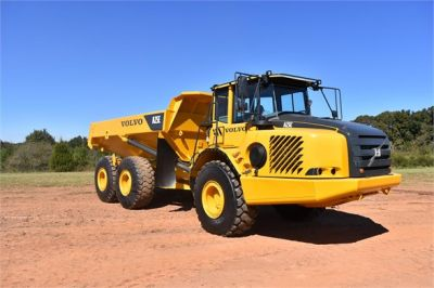 USED 2009 VOLVO A25E OFF HIGHWAY TRUCK EQUIPMENT #2465-3