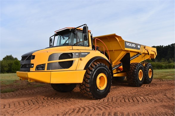 USED 2016 VOLVO A40G OFF HIGHWAY TRUCK EQUIPMENT #2467