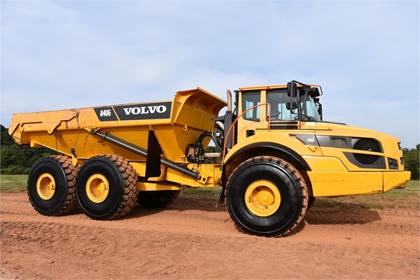 USED 2016 VOLVO A40G OFF HIGHWAY TRUCK EQUIPMENT #2468