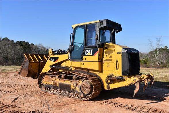 USED 2008 CATERPILLAR 963D CRAWLER LOADER EQUIPMENT #2474