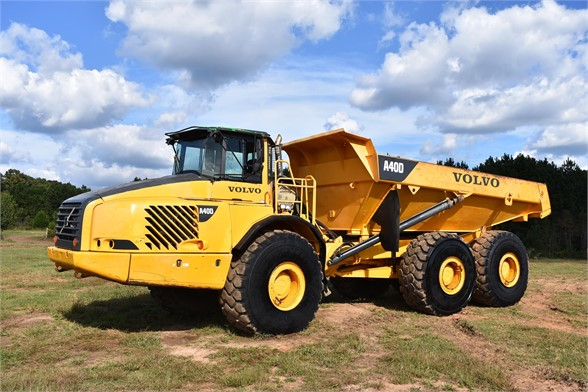 USED 2005 VOLVO A40D OFF HIGHWAY TRUCK EQUIPMENT #2489